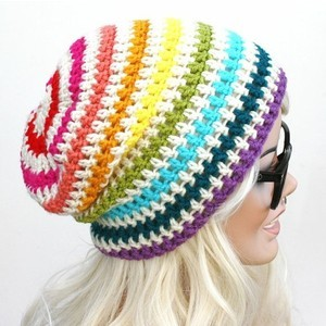 Rainbow Beanie Images