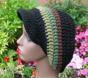 Rasta Beanie Crochet Pattern