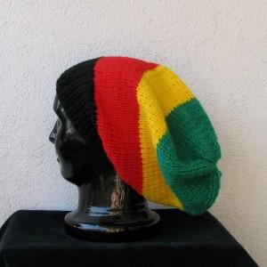 Rasta Beanie Hat