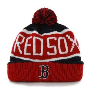 Red Sox Beanie with Pom