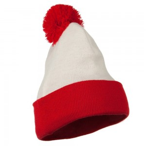 Red and White Beanie Pictures