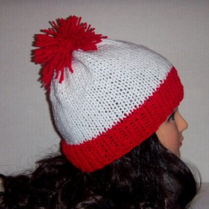 Red and White Beanies Pictures