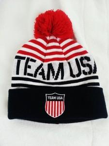 Team USA Beanie with Pom