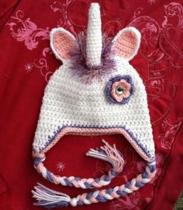 Unicorn Beanie Crochet
