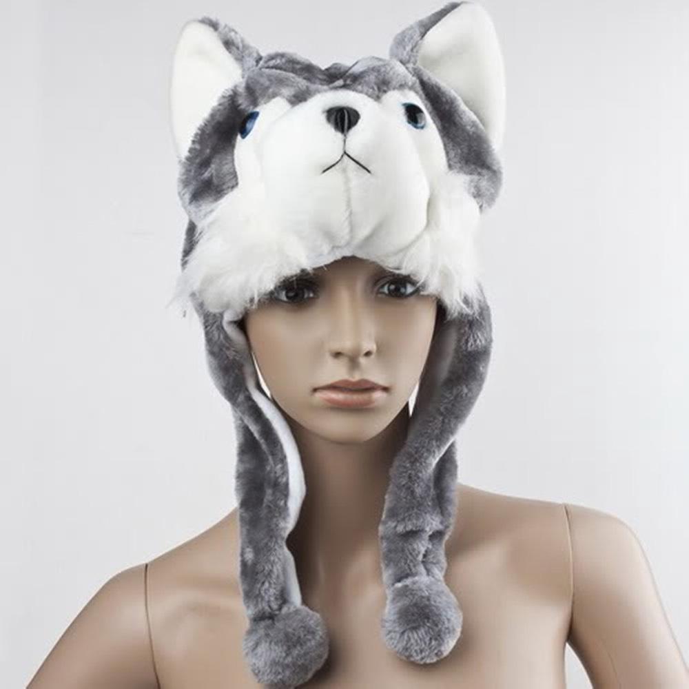 Wholesale Wolf Beanie Hat 8183f5f9c0e