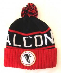 Atlanta Falcons Beanie with Pom