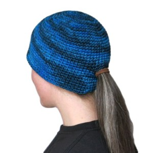Beanie with Ponytail Hole
