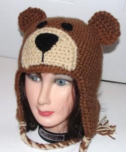 Bear Beanie Crochet Pattern