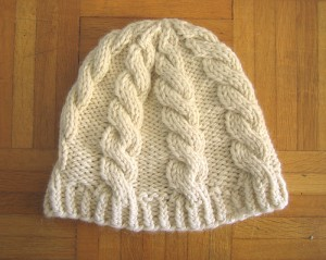 Cable Beanie Pattern
