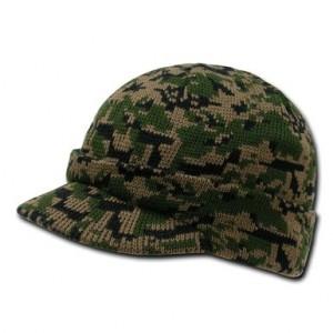 Camouflage Visor Beanie