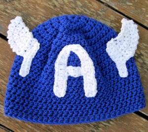 Captain America Beanie Crochet