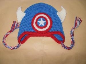 Captain America Beanie Crochet Pattern