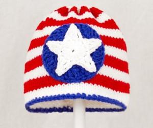 Captain America Beanie Hat