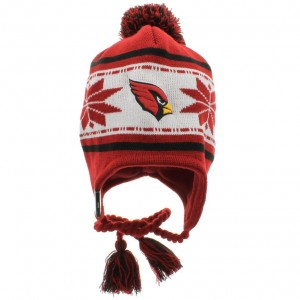 Cardinals Beanie with Pom