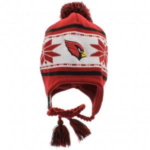 Cardinals Beanie with Pom