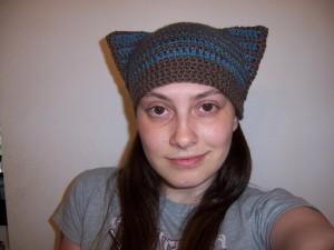 Cat Ear Beanie Crochet Pattern