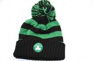 Celtics Beanie with Pom