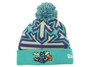 Charlotte Hornets Beanie with Pom