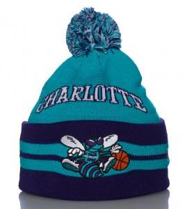Charlotte Hornets Knit Beanie