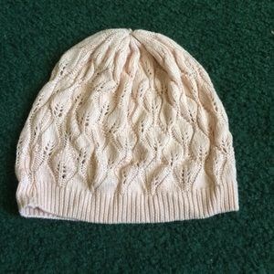 Cream Colored Beanie