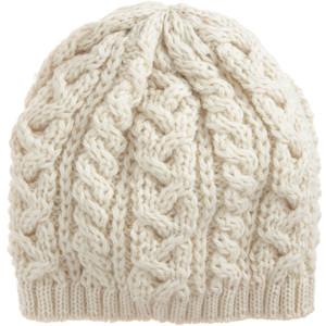 Cream Knit Beanie