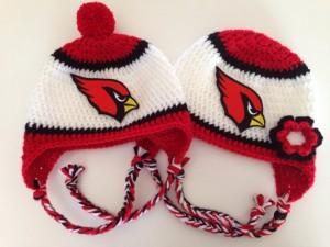 Crochet Cardinals Beanie