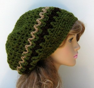Dreadlock Beanie Crochet Pattern