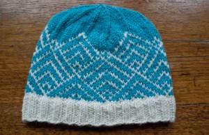 Fair Isle Beanie Knitting Pattern