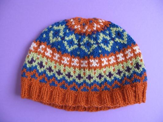 Fair Isle Hats Knitting Patterns : Fair Isle Beanie Beanie Ville