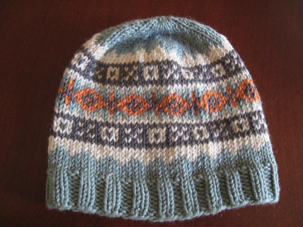 Fair Isle Bobble Hat Knitting Pattern] Ravelry Fair Isle Ski Hat ...