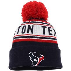 Houston Texans Beanie with Pom