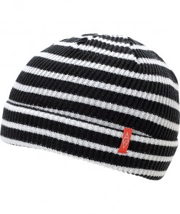 Images of Black and White Beanie