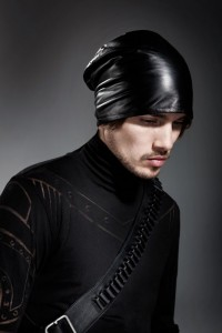 Images of Leather Beanie