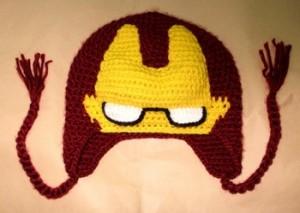 Iron Man Beanie Crochet Pattern