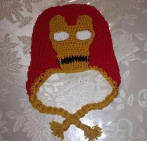 Iron Man Beanie Pattern