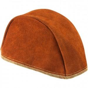 Leather Beanie Cap