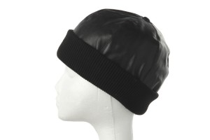Leather Beanies