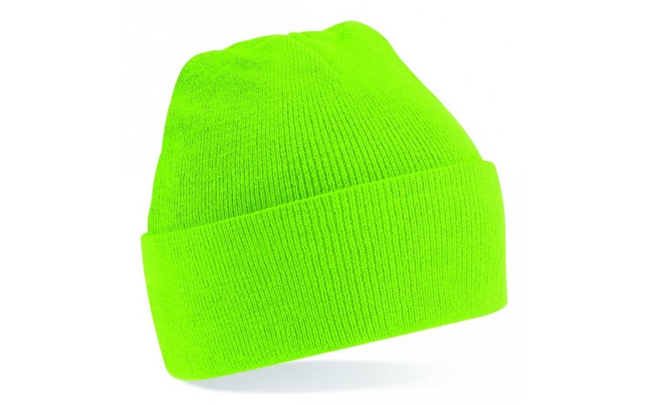 6898246e0f71d Lime Green Beanie