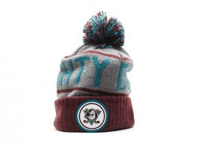 Mighty Ducks Pom Beanie