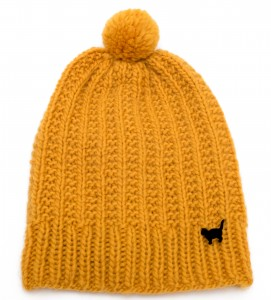 Mustard Colored Beanie