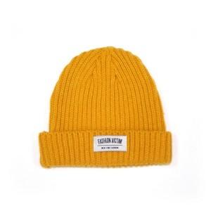 Mustard Yellow Beanie