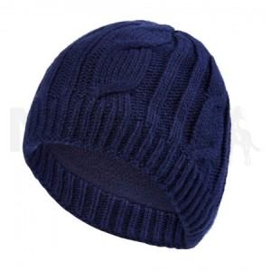 Navy Knit Beanie