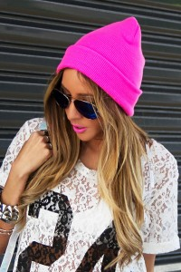 Neon Beanie Images