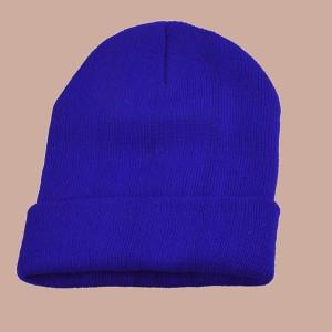 Neon Blue Beanie