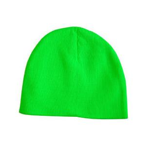 Neon Green Beanie Hat