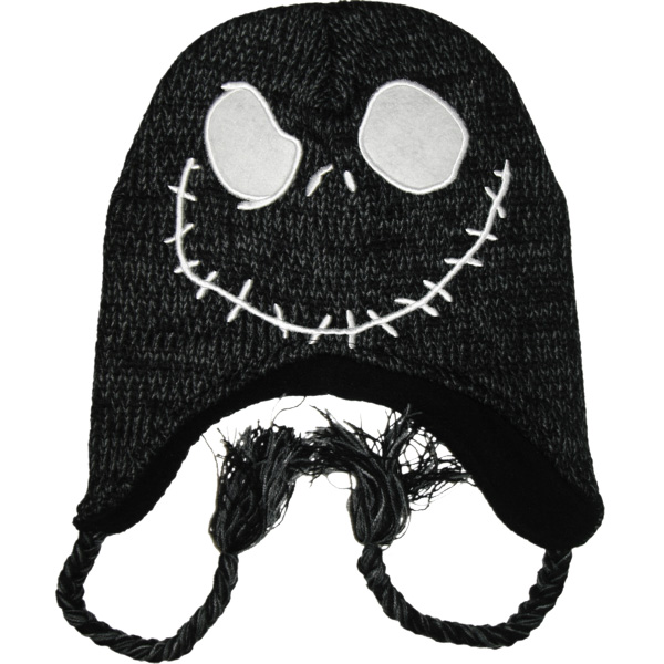 Jack Skellington Hat Knitting Pattern : Jack Skellington Beanie Beanie Ville