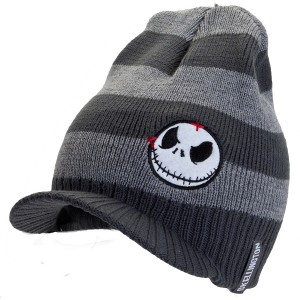 Nightmare Before Christmas Visor Beanie