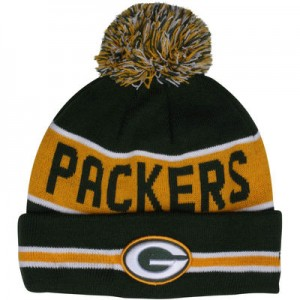 Packers Beanie with Pom