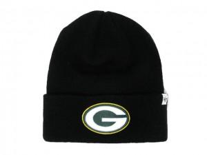 Packers Black Beanie