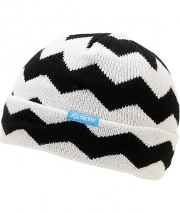 Pictures of Black and White Beanie